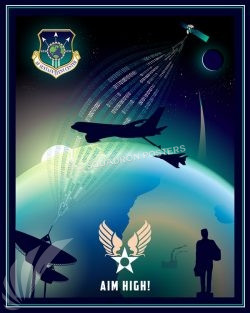 Air Force Sustainment Center Air_Force_Sustainment_Center_SP01278-featured-aircraft-lithograph-vintage-airplane-poster-art