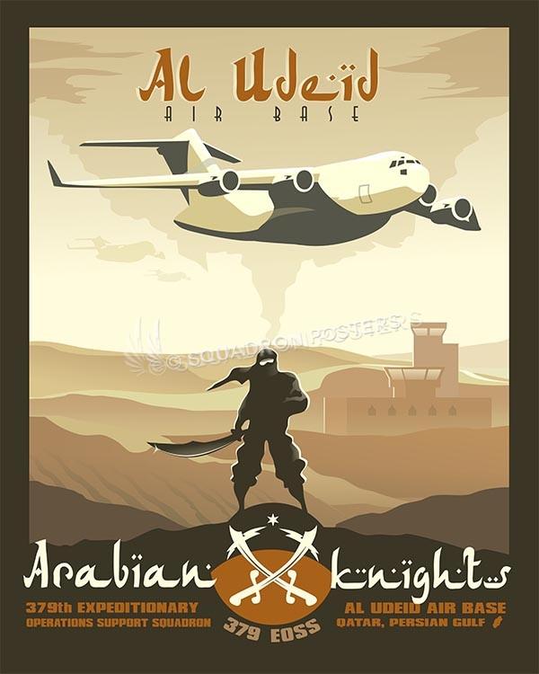 Al Udeid C-17 379 EOSS 16x20 SP00503 copy