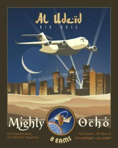 Al Udeid C17 8 EAMS SP00622-vintage-military-aviation-travel-poster-art-print-gift