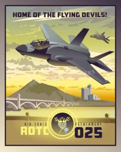 Arizona F-35 Det 025 SP00525-vintage-military-aviation-travel-poster-art-print-gift