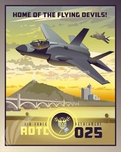 Arizona F-35 Det 025 SP00525-vintage-military-aviation-travel-poster-art-print-gift