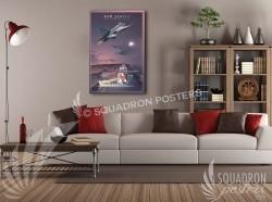 Atlantic City F-16 177th 20x30 SP00465-vintage-military-aviation-canvas-travel-retro