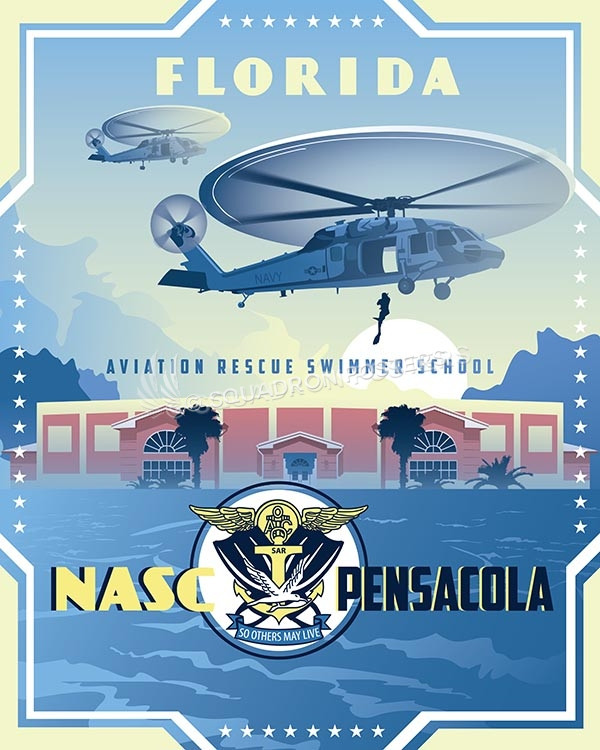 Nasc Pensacola Aviation Rescue Swimmer School Squadron
