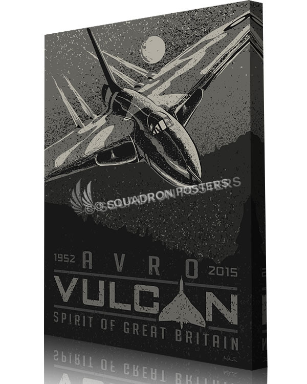 Avro vulcan sp00824 aircraft prints posters vintage art