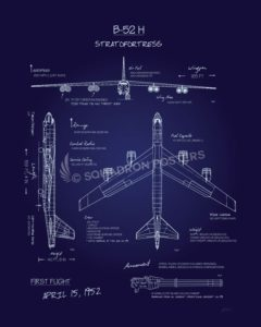 B-52_Stratofortress_Blueprint_SP00904-featured-aircraft-lithograph-vintage-airplane-poster-art