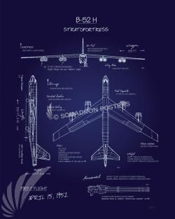 Blueprint Art Squadron Posters