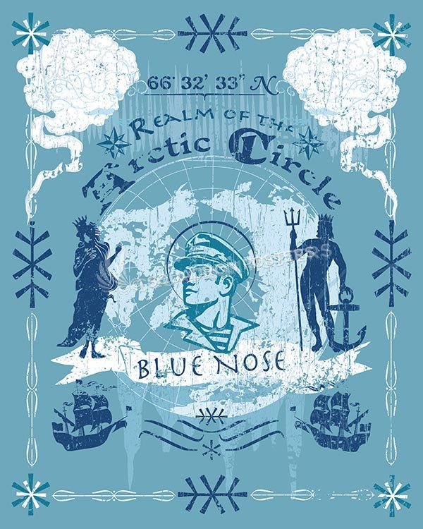 Blue Nose naval art Blue Nose SP00581-vintage-military-aviation-travel-poster-art-print-gift