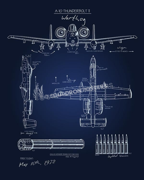 A 10 blueprint art squadron posters for Where to print blueprints