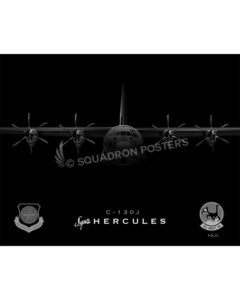 C-130J 41 AS SP00762-FEAT-jet-black-aircraft-lithograph-print