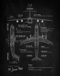 C5_Galaxy_Blackboard_SP00864-featured-aircraft-lithograph-vintage-airplane-poster-art
