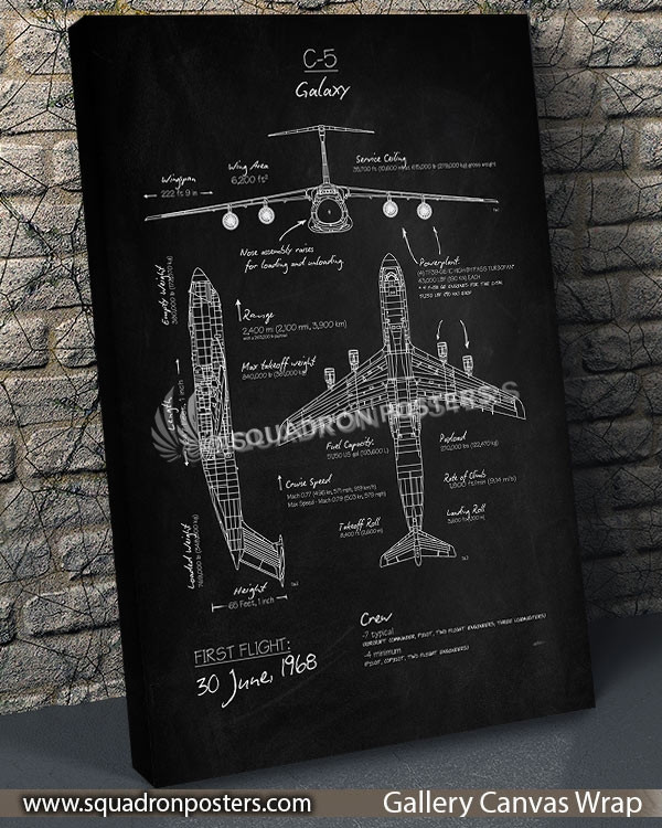 C5_Galaxy_Blackboard_SP00864-vintage-travel-poster-aviation-squadron-print-poster-art