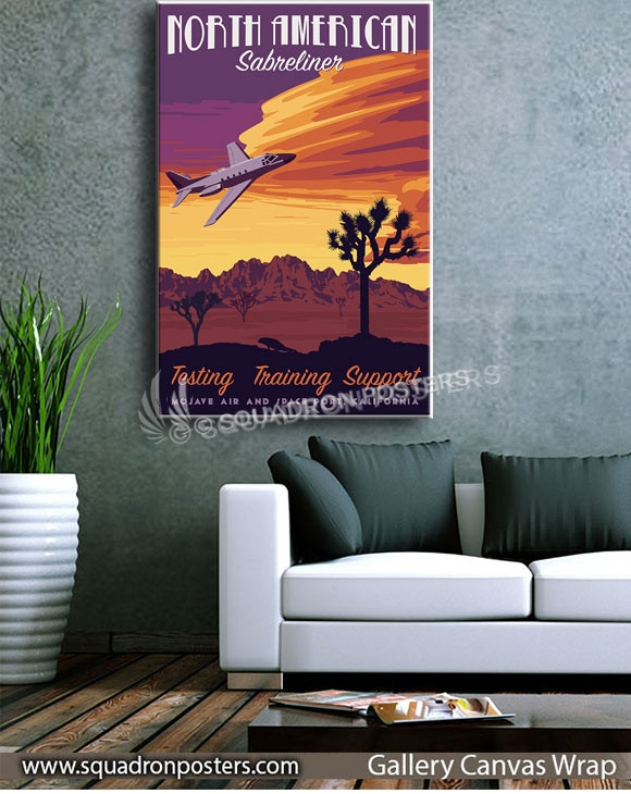 California_Sabreliner_Flight_Research_SP00949-squadron-posters-vintage-canvas-wrap-aviation-prints