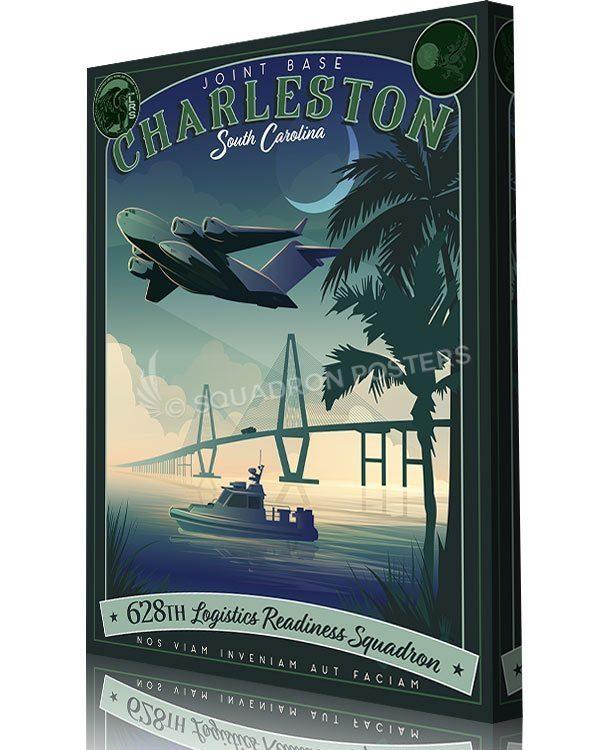 Charleston_AFB_C-17_628th_LRS_SP01524-aircraft-prints-posters-vintage-art