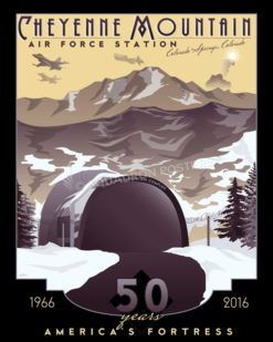 Cheyenne_Mountain_AF_Station_SP00971-featured-aircraft-lithograph-vintage-airplane-poster-art