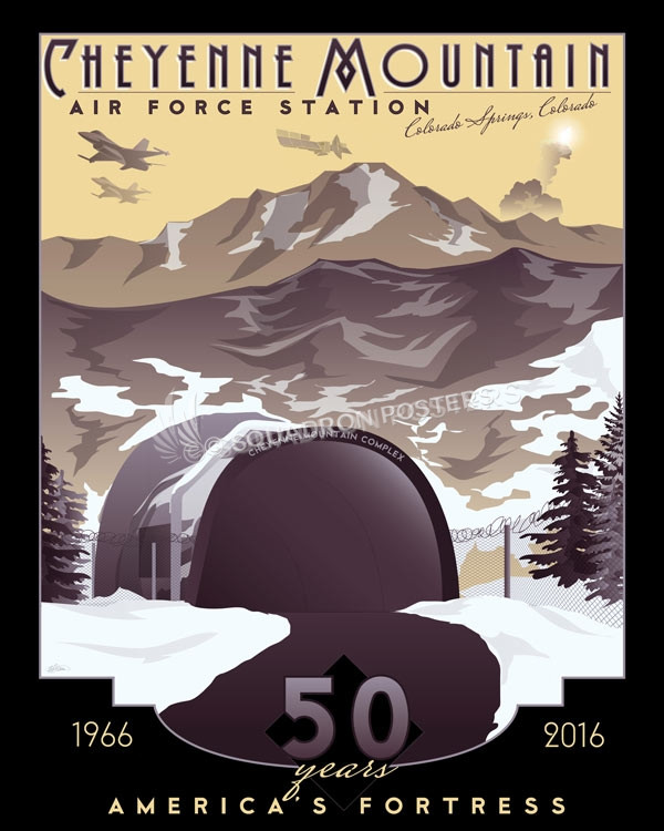 Cheyenne Mountain Air Force Station Squadron Posters