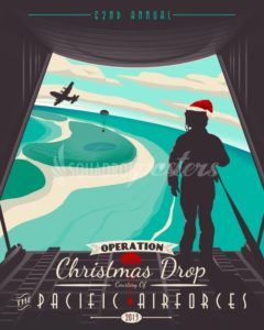 2013 Operation Christmas Drop - color 2013-operation-christmas-drop-color-edition-military-aviation-poster-art-print-gift