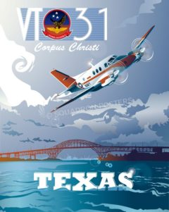 Corpus Christi T-44A Pegasus VT31 Corpus_Christi_T-44A_Pegasus_VT31_SP01293Mfeatured-aircraft-lithograph-vintage-airplane-poster