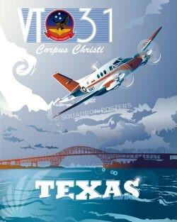 Corpus Christi T-44A Pegasus VT31 Corpus_Christi_T-44A_Pegasus_VT31_SP01293Mfeatured-aircraft-lithograph-vintage-airplane-poster