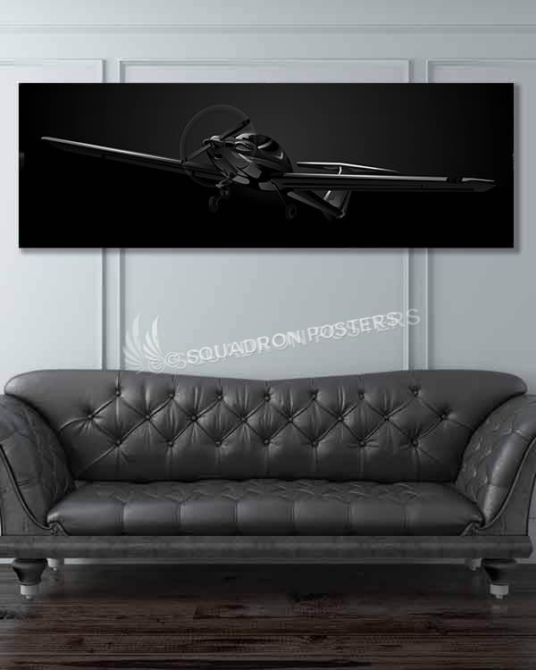 DA-20 katana black usaf isf super wide-featured-image-military-canvas