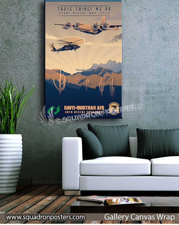 Davis_Monthan_HH-60G_HC-130J_48th_RQS_SP00967-squadron-posters-vintage-canvas-wrap-aviation-prints