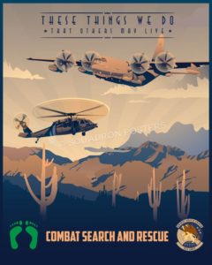 Davis_Monthan_HH-60G_HC-130J_923_AMSX_SP00905-featured-aircraft-lithograph-vintage-airplane-poster-art
