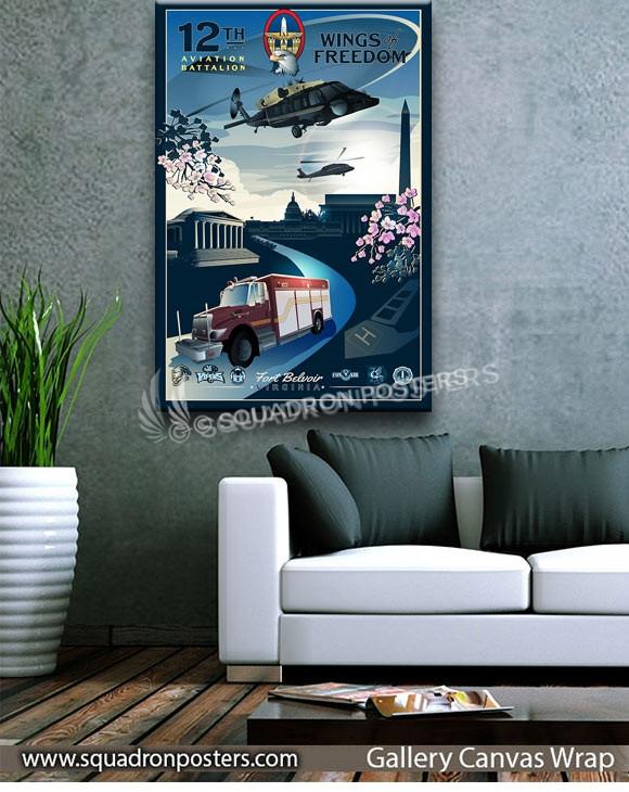 Davison_AAF_Ft_Belvoir_VH-60_HH-60_12th_AV_BTN_SP01406-squadron-posters-vintage-canvas-wrap-aviation-prints