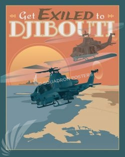 Djibouti Africa Cobra poster art Djibouti_Cobra_SP01483-featured-aircraft-lithograph-vintage-airplane-poster-art
