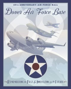 Dover AFB 69 Anniversary Air Force Ball Dover_AFB_69th_Anniversary_AF_Ball_SP01051-featured-aircraft-lithograph-vintage-airplane-poster-art