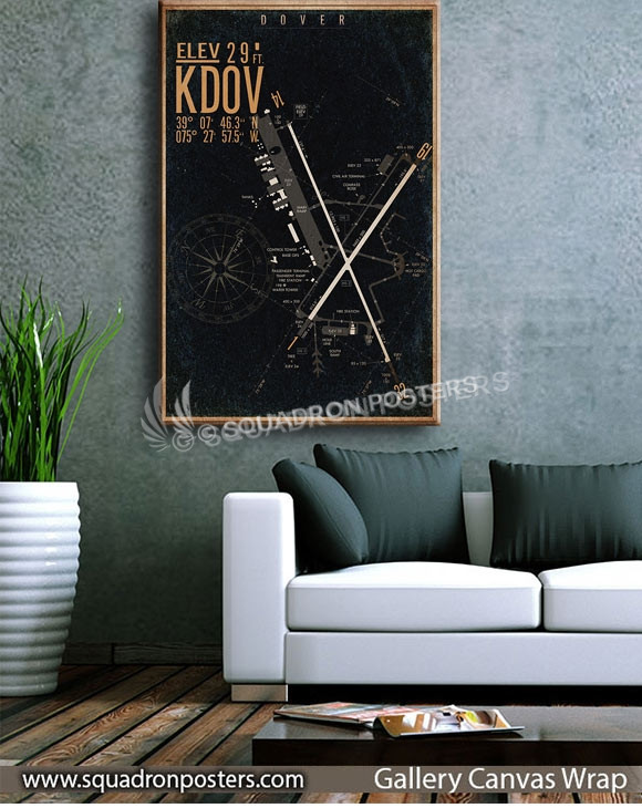 Dover_AFB_KDOV_airfield_map_SP00893-squadron-posters-vintage-canvas-wrap-aviation-prints