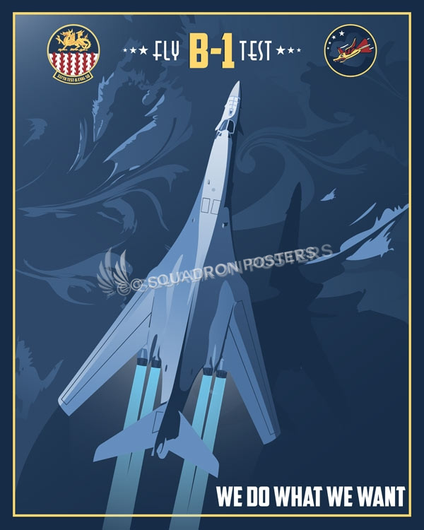 337th Test And Evaluation Squadron Squadron Posters