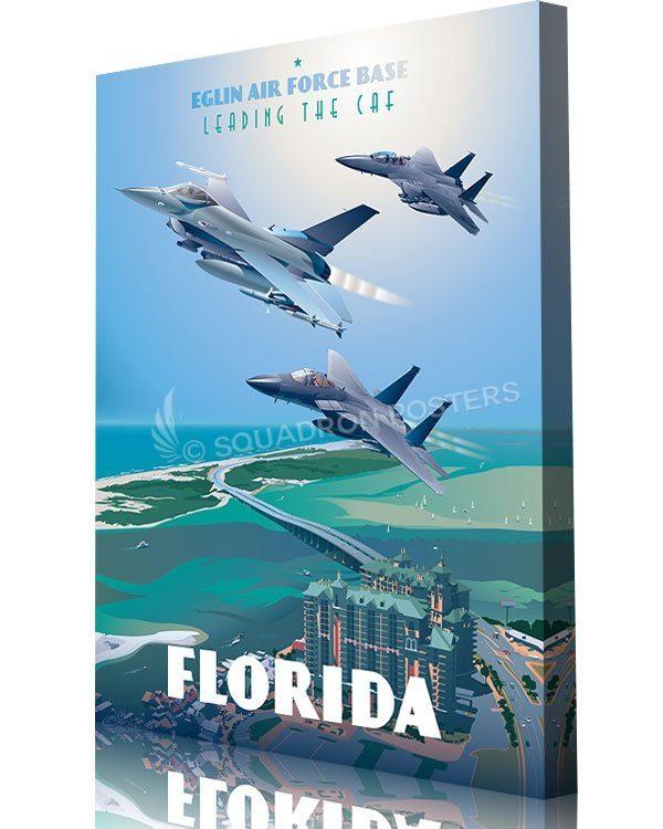 Eglin_AFB_F-15_F-16_85th_TES_Max_Shirkov_SP01533-aircraft-prints-posters-vintage-art