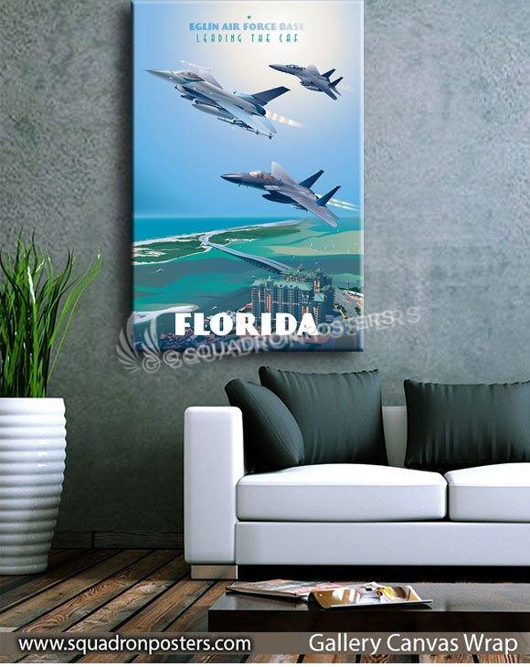 Eglin_AFB_F-15_F-16_85th_TES_Max_Shirkov_SP01533-squadron-posters-vintage-canvas-wrap-aviation-prints