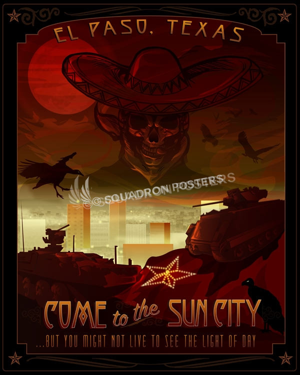 Fort Bliss Texas 7th Asos Version 2 Squadron Posters