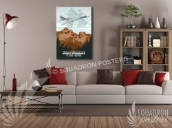 Ellsworth 34BS 20x30 SP00455-vintage-military-aviation-canvas-travel-retro
