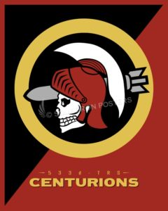 Emblem TRS 533d Centurions SP00733 featured-aircraft-lithograph-vintage-airplane-poster