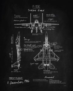 F-15E_Blackboard_SP00866-featured-aircraft-lithograph-vintage-airplane-poster-art