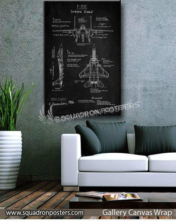 F-15E_Blackboard_SP00866-squadron-posters-vintage-canvas-wrap-aviation-prints