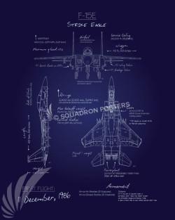 F-15E_Blueprint_SP00865-featured-aircraft-lithograph-vintage-airplane-poster-art