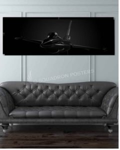 F-16 Jet Black wide featured-image-military-canvas