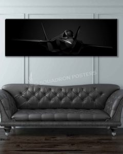 F-35 Lightning II Jet Black Lithos