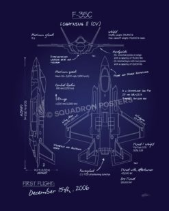 F35c_Lightning_II_Blueprint_SP00959-featured-aircraft-lithograph-vintage-airplane-poster-art