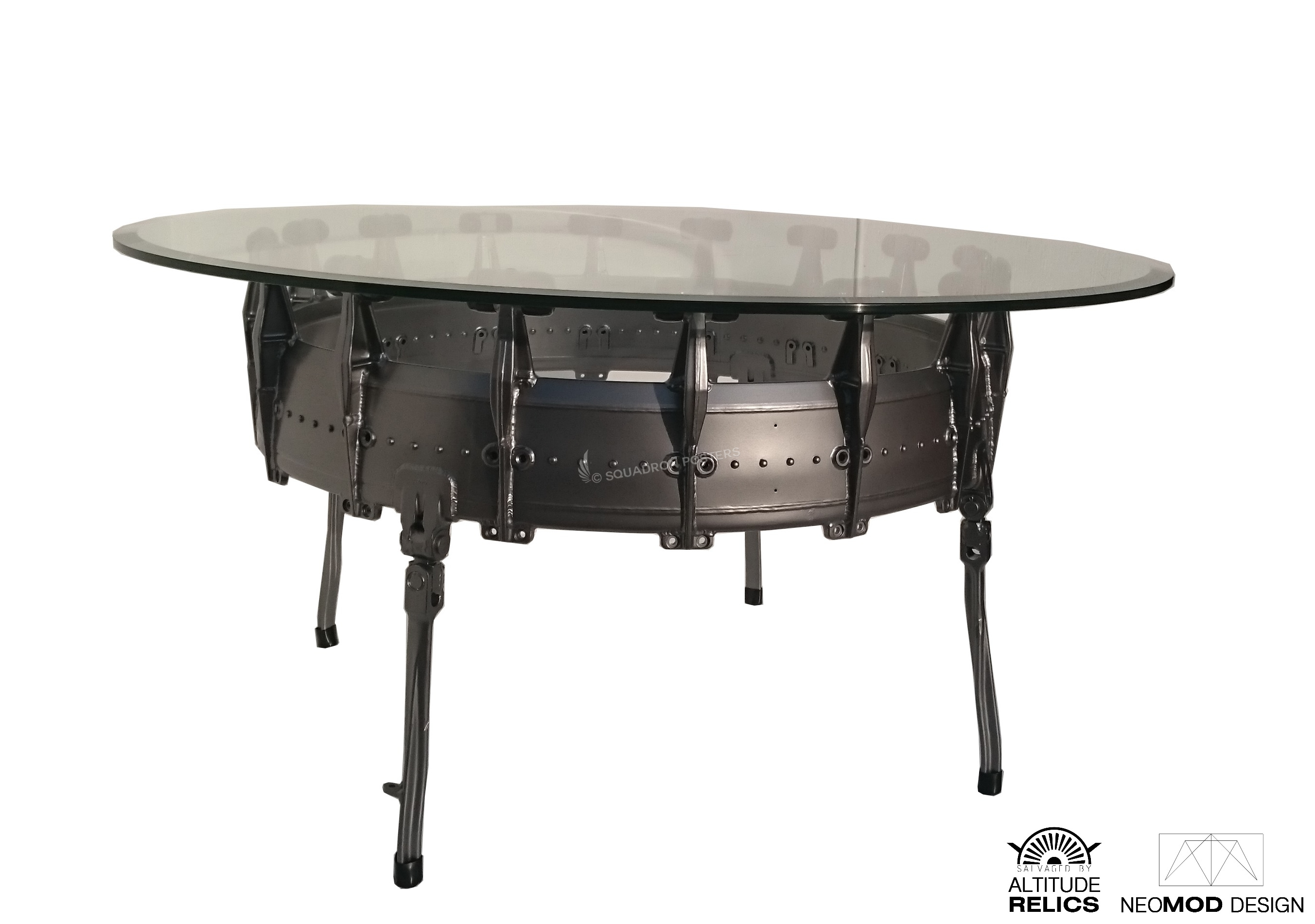 F 4 Phantom Afterburner Coffee table