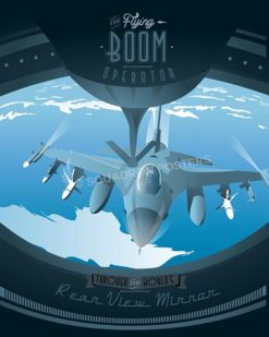 kc-10-kc-135-boom-operator-military-aviation-vintage-poster-art-print gift