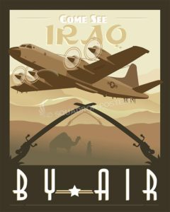 EP-3 Aries come-see-iraq-by-air-ep-3-orion-military-aviation-poster-art-print-gift