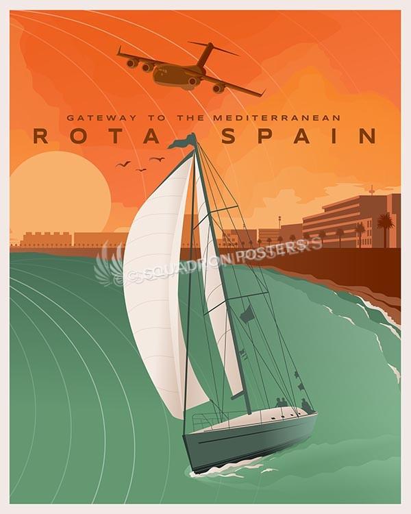 Naval Station Rota Spain - C-17