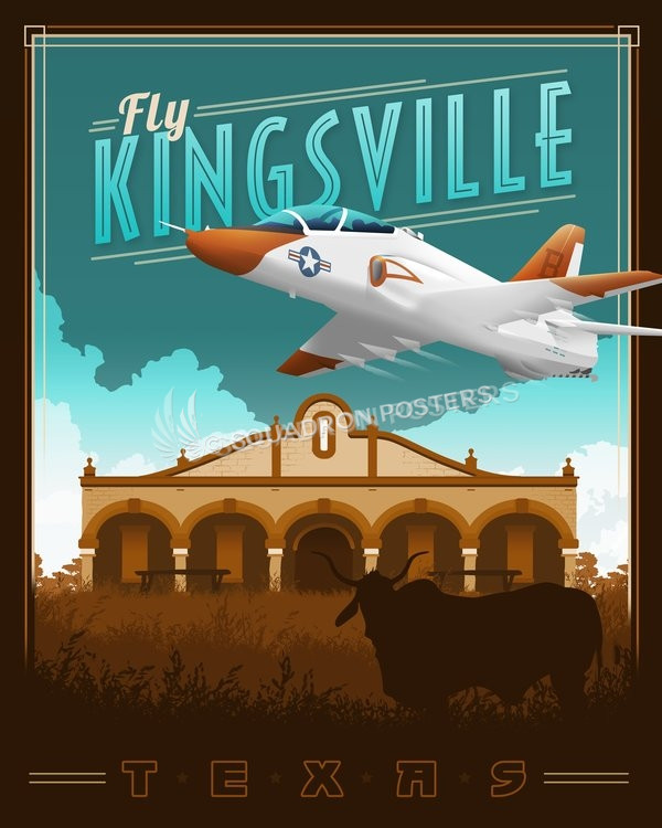 kingsville-naval-air-station-military-poster-art