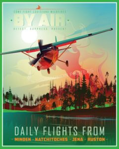 Fight_Wildfires_day_SP01024-featured-aircraft-lithograph-vintage-airplane-poster-art