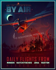 Fight_Wildfires_night_SP01025-featured-aircraft-lithograph-vintage-airplane-poster-art
