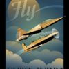 Fly_T-38_and_T-6_SP00862-featured-aircraft-lithograph-vintage-airplane-poster-art