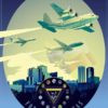 NAS Fort Worth, CFLSW Fort_Worth_C-130T_C-40_C-37_FLSW_v1_SP01252-featured-aircraft-lithograph-vintage-airplane-poster-art